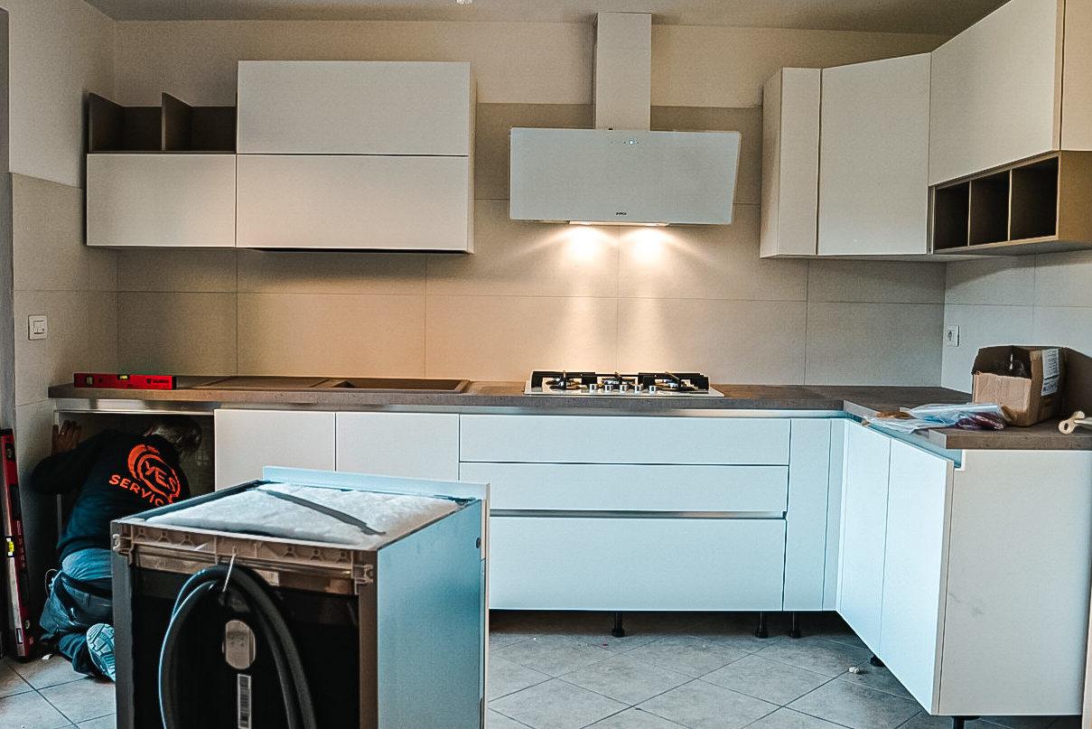 Montaggio cucine a Firenze